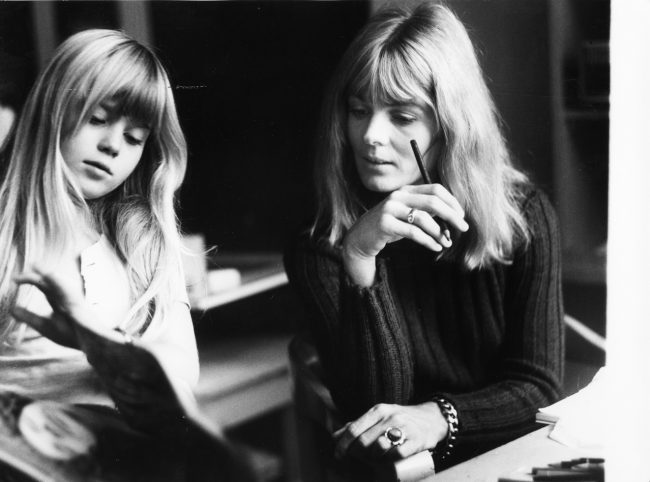 W 1970 Mit Tochter Nina 612