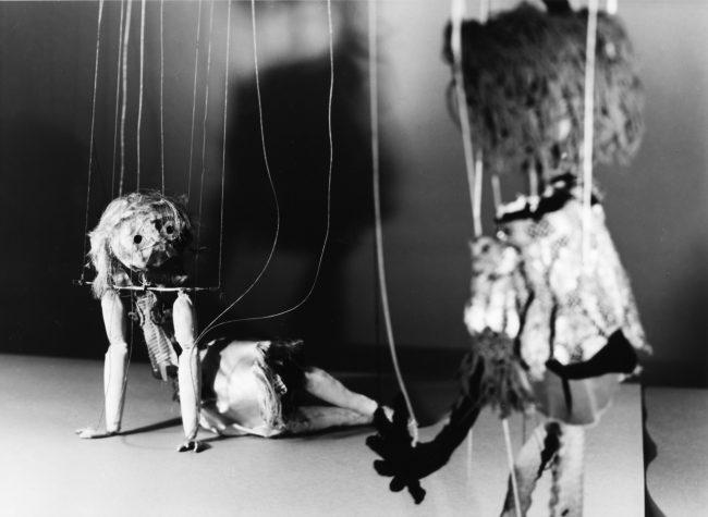 Marionetten _ Aufführung im Goldsmith College London