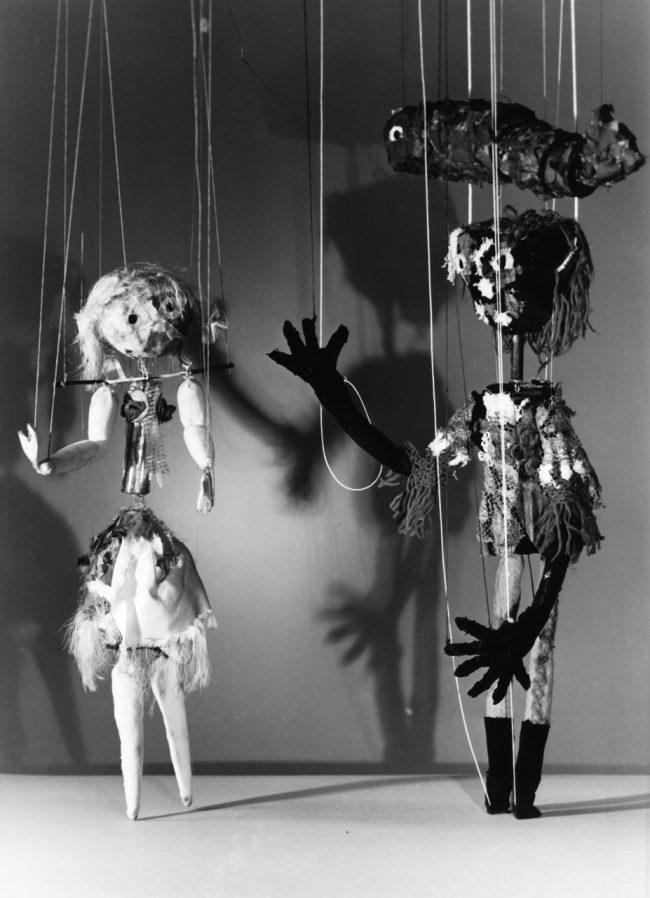 Marionetten - Aufführung im Goldsmith College London