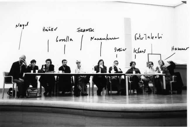 Deutscher Künstlerbund - Vorstandssitzung