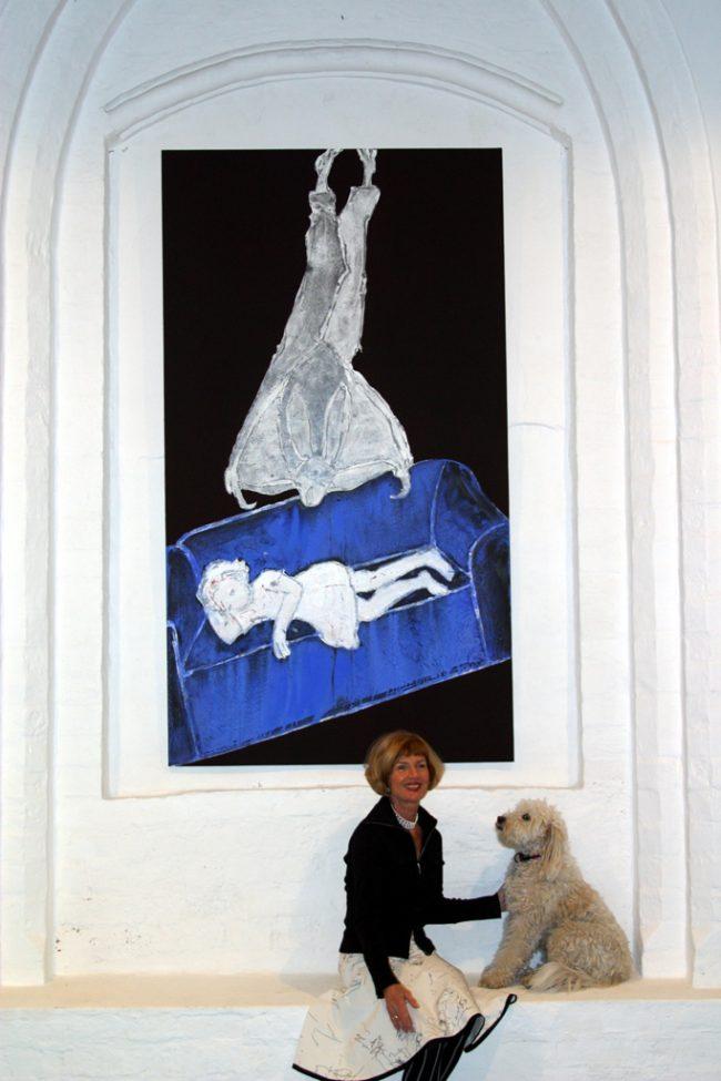 FRANEK mit Canela im Museum für JUNGE KUNST, Frankfurt/O