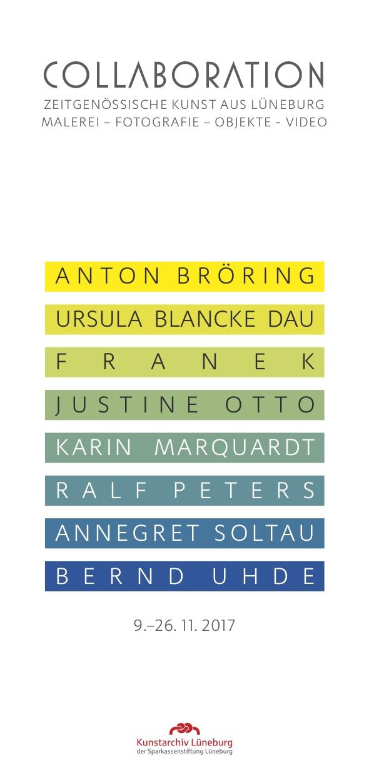 Einladungskarte Collaboration