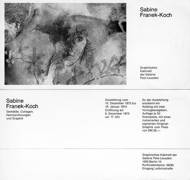Sabine Franek-Koch - Galerie Pels Leusden