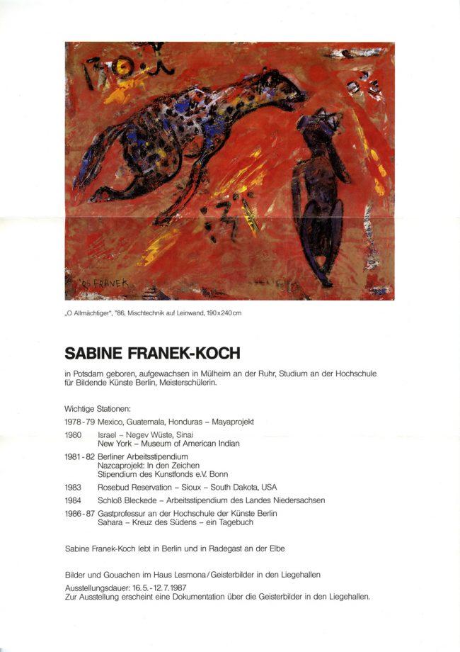 Einladung Galerie Birgit Waller
