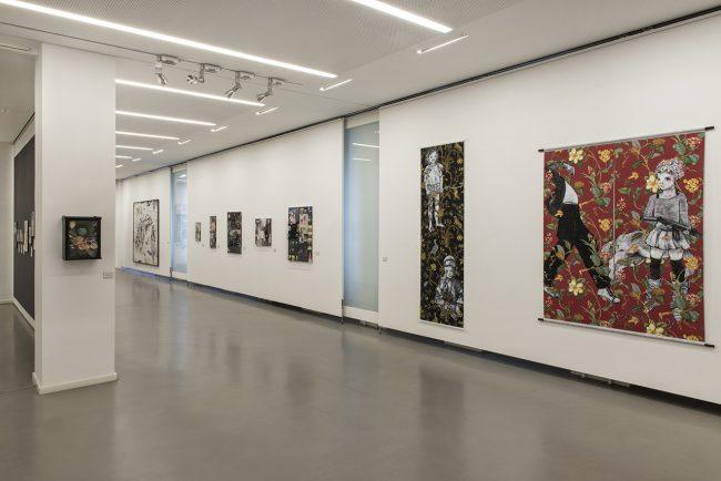 FRANEK als die Soldaten Schäfer waren, kommunale Galerie Berlin, Blickwinkel