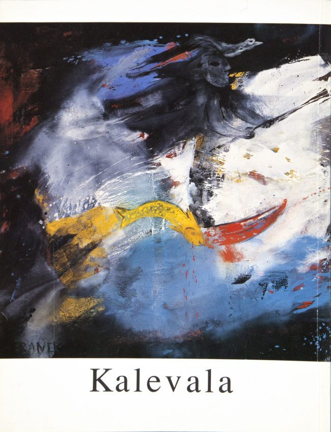 W 1991  Franek  Kalevala  Rã¼Ckseite   Img 1544