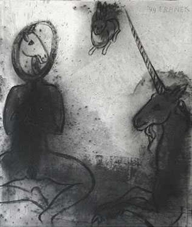 La Dame a la Licorne, Sehen