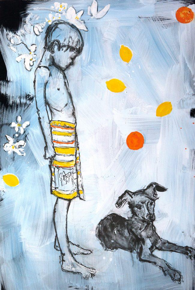 Das Haus -  Der Hund