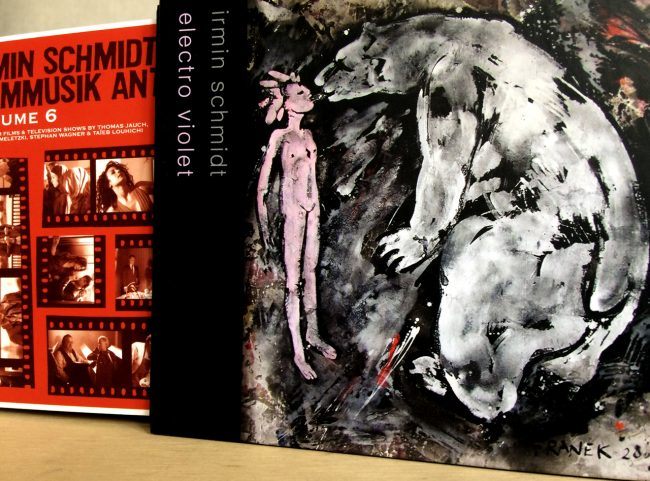 CD BOX Irmin Schmidt electro violet