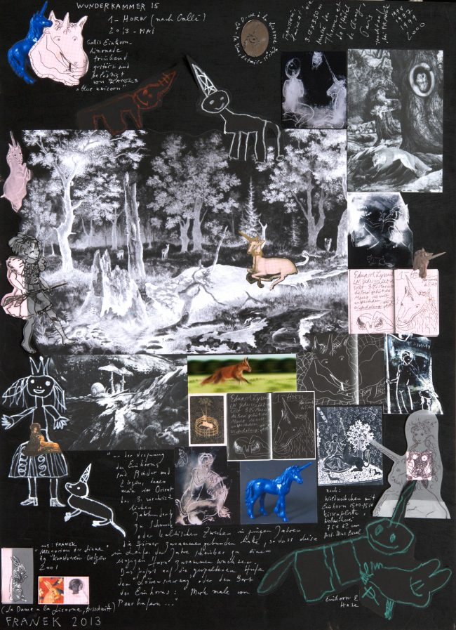 Wunderkammer 15 (Einhorn)