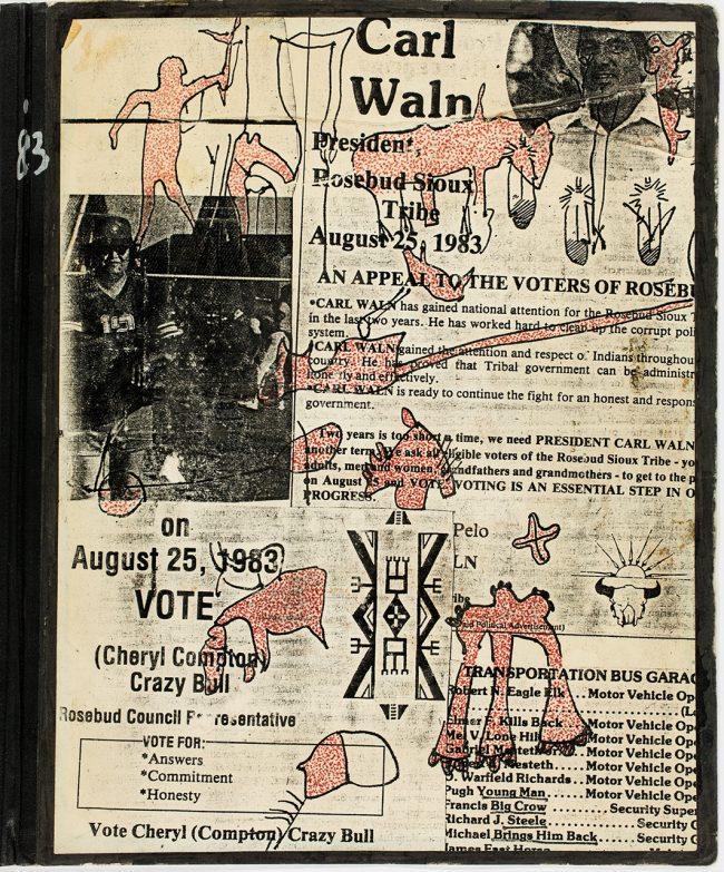 W 1983 K 005 Lakota Tagebuch Umschlag Vorne 1983 K 005 Lakota Tagebuch Umschlag Vorne 009
