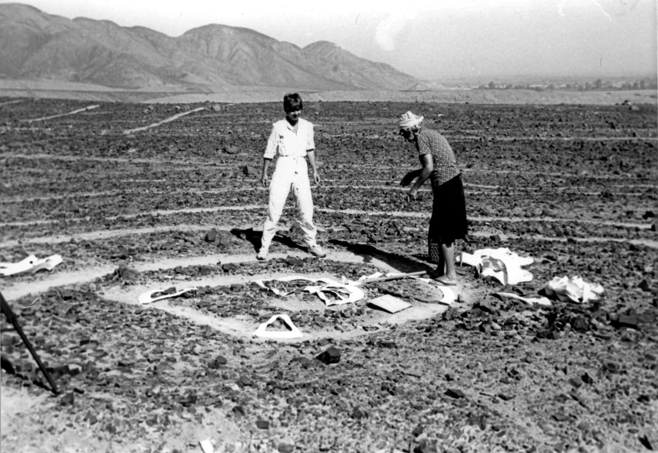 Nazca - die Vermessung einer Spirale mit Maria Reiche